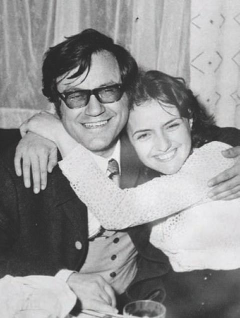 Maestrul Geo Saizescu împreună cu soţia sa Avi Saizescu